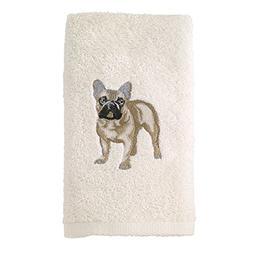 Avanti Linens 021552 Fbd French Bulldog 2 Pack, Hand Towel,