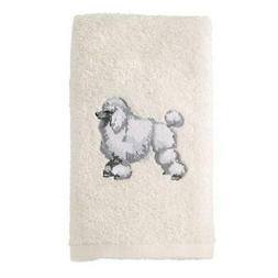 Avanti Linens 021552 Pdl Poodle 2 Pack, Hand Towel, Ivory, 2