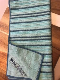 1- Norwex Hand Towel * SEA MIST STRIP* Microfiber 27.56x 13.