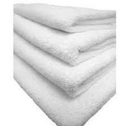1 Piece Hand Towel Plain Terry Cotton