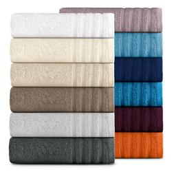 Lavish Touch 100% Cotton, 500 GSM Soft & Absorbent, Quick Dr