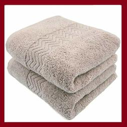 Cleanbear 100% Cotton Hand Towels,Highly Absorbent,2-Pack, 1