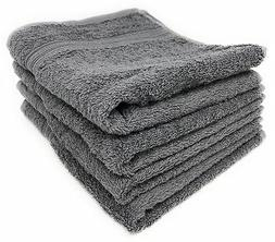 Maymarg 100% Cotton Towels  Grey New