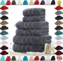 100% Cotton Towels Set Bath Sheet Hand Large Bale 600GSM Bat