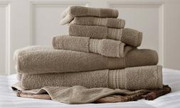ALLURE 100% Superior Combed Cotton Loops Towel Set 6-Piece T