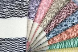 Peshtemal Palace  100 Turkish Cotton Diamond Pestemal Towel;