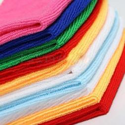 10x Multi-Color Soothing Cotton Face Soft Towel Cleaning Was