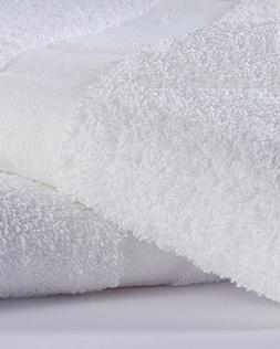 12 bright white hand towels 16x27 salon gym and home hotel g