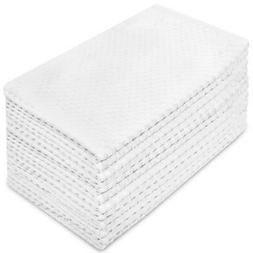 12 pack euro cafe waffle weave terry