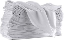 12 Pack Flour Sack Towels For Kitchen   12 Pack 100% Cotton