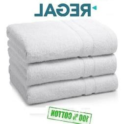 12 pack white greentree collection 16x27 hotel hand towels 1