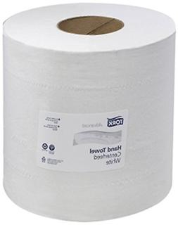 Tork 121204 Advanced 2-Ply Centerfeed Wide Hand Towels, Whit