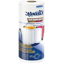 Kleenex 13964 Premiere Kitchen Roll Towels, White, 70 Per Ro