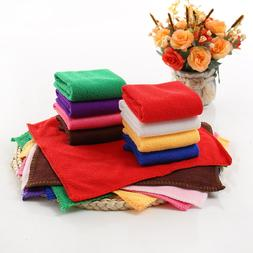 1pcs 25*25cm Solid Color Soft Square Face <font><b>Towel</b>