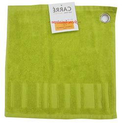 2 Garnier Thiebaut Cotton French Spa Face Hand Square Towels