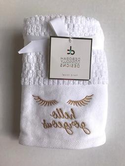 2 Pack Deborah Connolly Designs Bath Hand Towels Hello Gorge