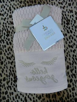 2 Pack Deborah Connolly Designs Blush Hand Towels Hello Gorg
