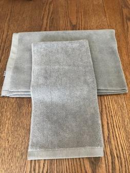 2 Pc Norwex Bath Mat-Graphite & Hans Towel NEW