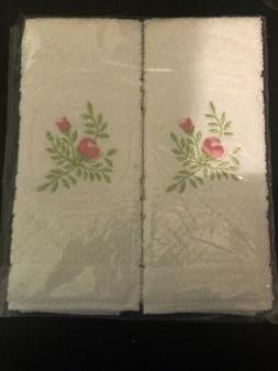 2 PC SET  HAND TOWEL-HAND CRAFT PORTUGAL NEW