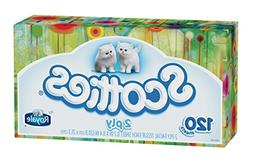 Scotties 2-Ply Facial Tissue, 120 Count