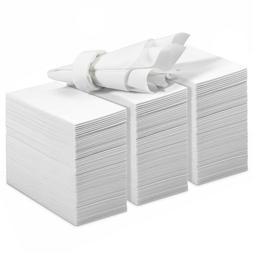 200 Linen Feel Guest Towels Disposable Cloth Like Hand Napki
