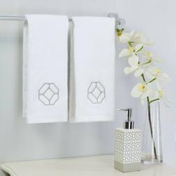 Mainstays 3-Piece Geometric Accessory Bath Set Dispenser and