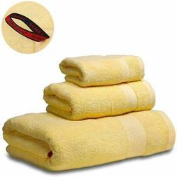SEMAXE 3-Piece Towel Set 100% Cotton,1 Large Bath Towels,