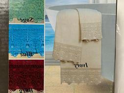 3 Piece Towels Set 1 BATH TOWEL, 1 HAND TOWEL AND 1 WASHCLOT