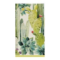 Caspari 3-Ply Paper Culiko, 15 Count Guest Towel Napkins, Se