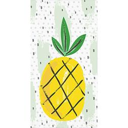 Creative Converting 332667 Elise 3-Ply Paper Pineapple 16 Co