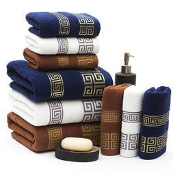 34x74cm 100% Cotton Absorbent Solid Color Soft Comfortable T