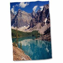 3D Rose Alberta-Moraine Lake-Valley of The Ten Peaks-Cn01 Re