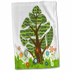 3D Rose Persian New Year Tree of Seven Sacred Heralds of Lif