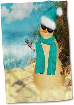 3D Rose Sandy Beach Sandman with Ocean View Fun Spoof on a S