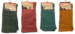 4pcs  Washcloth Towel Set - Absorbant - Face Towels - Kitche