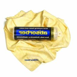 "CleanTools 51149 The Absorber Synthetic Drying Chamois 27"" x"