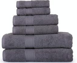 6 piece towels set 2 bath towel
