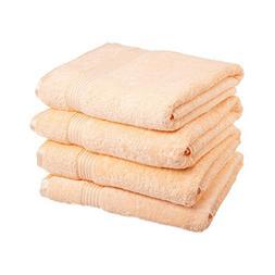 eLuxurySupply 600 GSM Long Staple Combed Cotton 4-Piece Bath