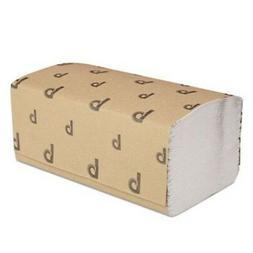 Boardwalk 6212 Singlefold Paper Towels- White- 9 x 9 9/20- 2
