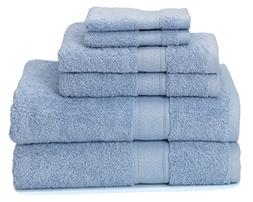 700 GSM Premium Bath Towels Set of 6  - 100% Cotton, Super S
