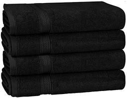 700 GSM Premium Hand Towels Set 4 Pack - Cotton for Hotel &