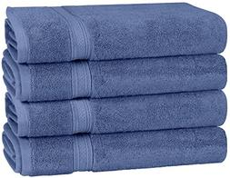 Utopia Towels 700 GSM Premium Towels Set - 4 Pack - Cotton f