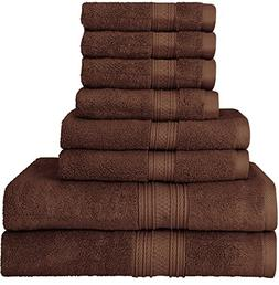 Utopia Towels Luxurious 700 GSM Thick 8 Piece Towel Set in D