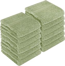 Utopia Towels Premium 700 GSM Cotton Washcloths - 12 Pack, S