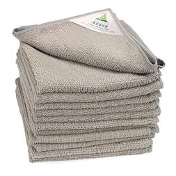"Cedar Creek Multi-Surface Grey Microfiber Towel | 12""x16"" 