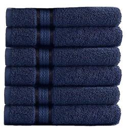 Cotton Craft - 6 Pack - Ultra Soft Extra Large Hand Towels 1