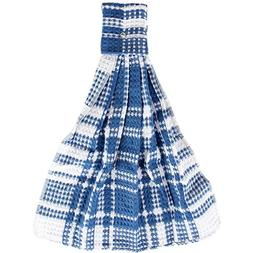 Home-X - Blue Snap Top Towels , Kitchen Towels and Dishcloth