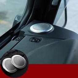 Inner Dashboard Speaker Trim Cover 2pcs For Land Rover Defen