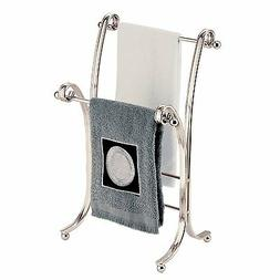 InterDesign York Lyra Fingertip Hand Towel Rack – Free-Sta