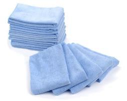 "Mr.Towels Premium Microfiber Cleaning Towel 16"" x 16"" - Blue"